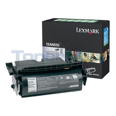 LEXMARK T520 TONER CARTRIDGE BLACK RP 20K